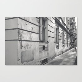 Prague street. Canvas Print