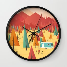 Go out Wall Clock