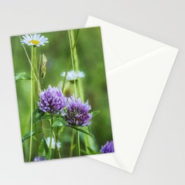 Clover and Daisies Stationery Cards