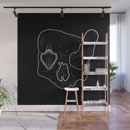 Death Head Sex Head Wall Mural