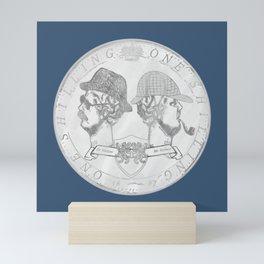 sherlock shilling! Mini Art Print