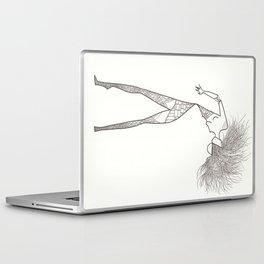 Crazy hair! Laptop & iPad Skin