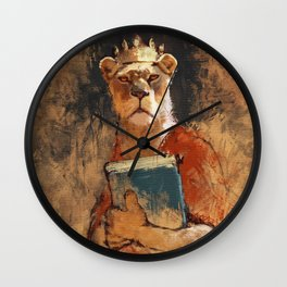 The queen's orders Wall Clock