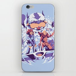 From the valley of the wind iPhone Skin