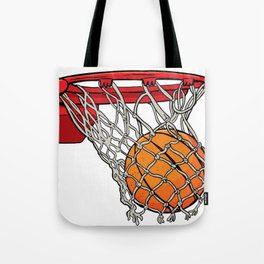 ball basket Tote Bag