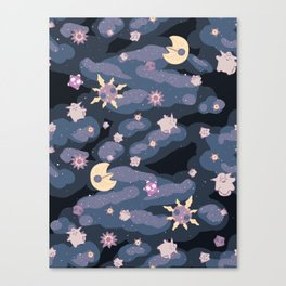 Cuties in Space Canvas Print