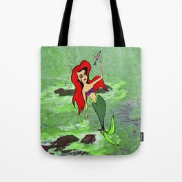 LITTLE MERMAID AND A LOVE UNREQUITED Tote Bag