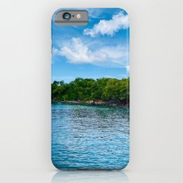 St. Lucia Bay iPhone Case