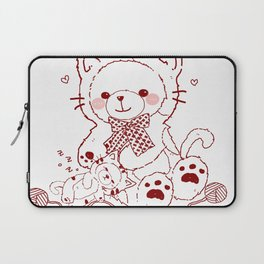 The Adventures of Bear and Baby Bear-Cats Laptop Sleeve