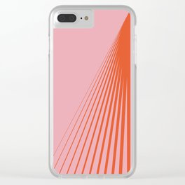 LINES001 Clear iPhone Case