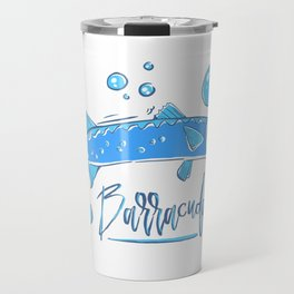 Big Blue Barracuda Travel Mug