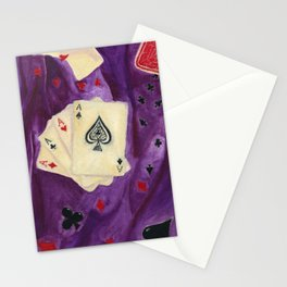 Game of Aces Stationery Cards
