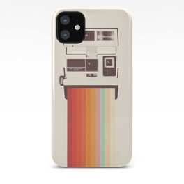 Instant Camera Rainbow iPhone Case