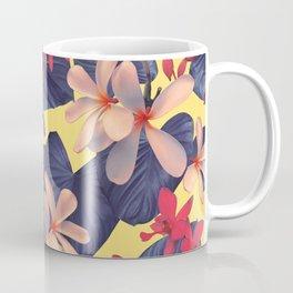 Mixed Tropical Floral Coffee Mug