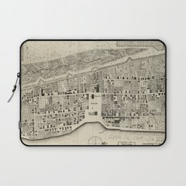 Vintage Map of St. Augustine FL (1764) Laptop Sleeve