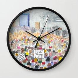 Boston March 2017 Wall Clock
