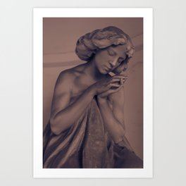 Silent Prayer Art Print