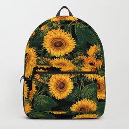 Helianthus Annuus II Backpack