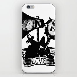 Love and weapons, Custom gift design iPhone Skin