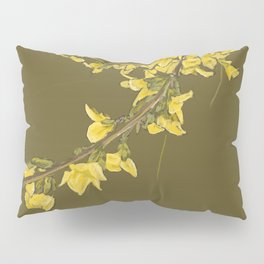 The Yellow Irish Bush Pillow Sham