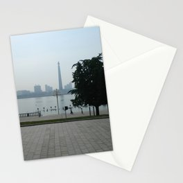Pyongyang Riverwalk Stationery Cards