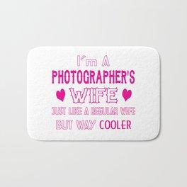 Photographer's Wife Bath Mat