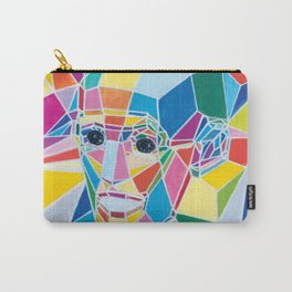 Polygonal man Carry-All Pouch