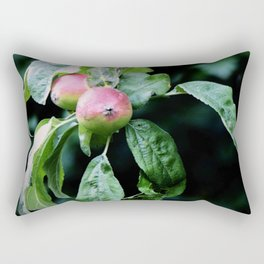 The Old Crabapple Tree II Rectangular Pillow