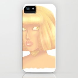 Golden Godess iPhone Case