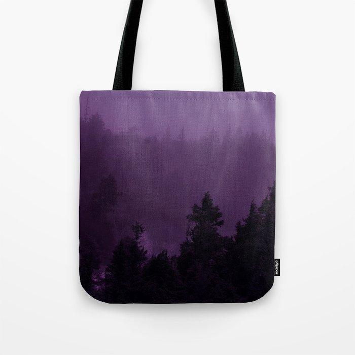 Purple Fog Tote Bag