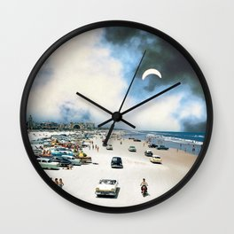 Blue Mist Wall Clock
