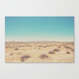 the Mojave Desert ... Canvas Print
