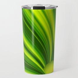 Abstract green 209 Travel Mug