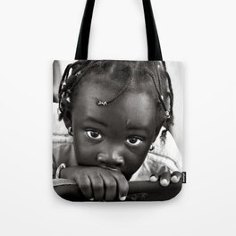LOOKING INTO MY EYES Tote Bag