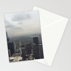 Central Park in the Fog Stationery Cards