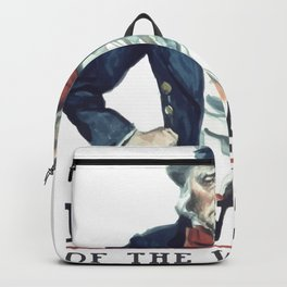 Beware Of The Wrath Of A Patient Man Uncle Sam Backpack