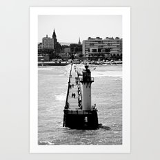 Calais Lighthouse Art Print