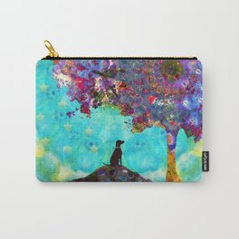 Tree Of Life Artwork - Dog Is Life - Sharon Cummings Carry-All Pouch