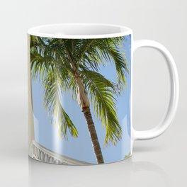 Blue Sky, Sunshine and Palm Trees Coffee Mug