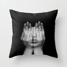 I Can See Through You Throw Pillow
