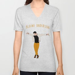 Blaine Anderson - Wanna Be Startin' Something Unisex V-Neck