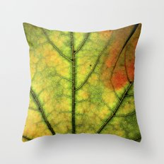Fall Leaf II Throw Pillow