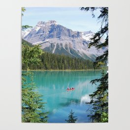 Alpine Lake Poster