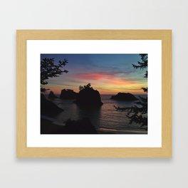Samuel H Boardman Sunset Framed Art Print