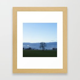 Autumn in Groningen Framed Art Print