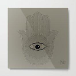 HAND PROTECTION Metal Print