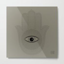 HAND PROTECTION Metal Print