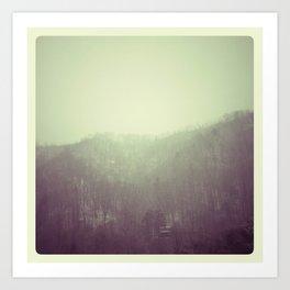 Winter scape #3 Art Print