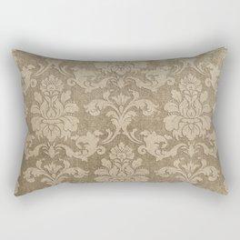 Beige Royal Rectangular Pillow