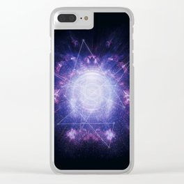 Abstract colossal spa Clear iPhone Case